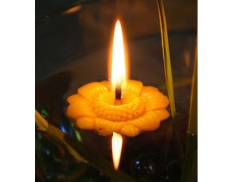 """Bičių vaško žvakė """"Saulėgraža"""""""