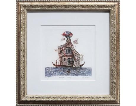 """Grafika """"Pasiilgau Venecijos"""", 2014"""