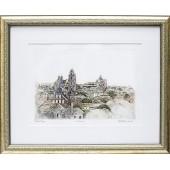"Grafika ""Vilnius"", 43x52cm"