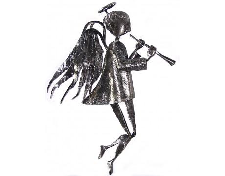 Kalviškas Angelas su dūdele