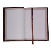 Vidinė knyga linijomis odiniam aplankalui, A5